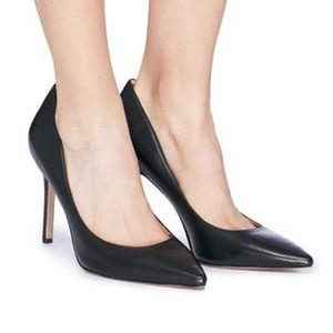 Sam Edelman Hazel Leather Pumps Black 8.5